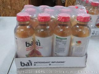 Bai Flavored Water Malawi Mango Antioxidant Infused Drinks 12 )