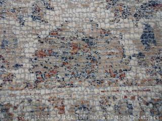 """Loloi PORCPB-10NANA3752 Porcia Collection Area Rug, 3'7"""" x 5'2"""", Natural"""