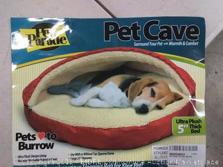 Pet Parade pet cave Ultra + 5 in thick bed