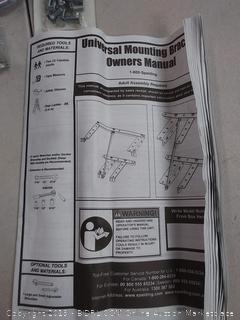 Spalding Universal mounting bracket for basketball hoop