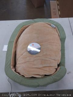 1913 Thermo snuggly sleeper heated pet bed medium Sage 26 in x 20 in x 6 in