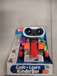 Fisher-Price code in learn kinderbot