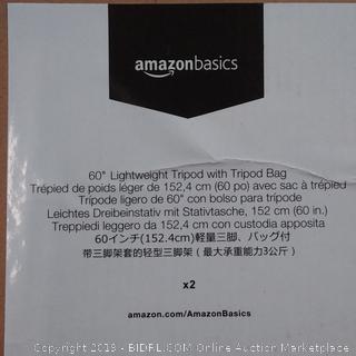 "60"" Lightweight Tripod With Tripod Bag"
