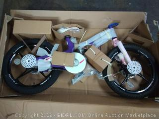 royal baby space shuttle bicycle 18in wheels purple