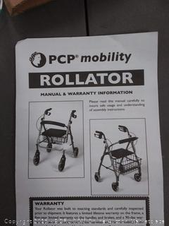 PCP Mobility rollator