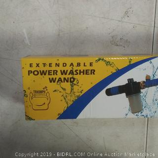 extendable power wash wand