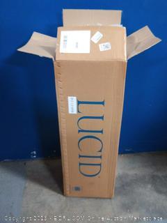 Lucid 5 inch gel memory foam mattress firm fill full XL (online $139)