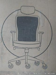 the office Oasis computer chair black