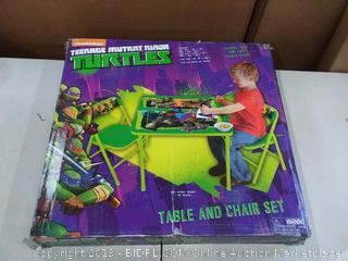 Teenage Mutant Ninja Turtles Maxin and Shellanxin Activity Table Set