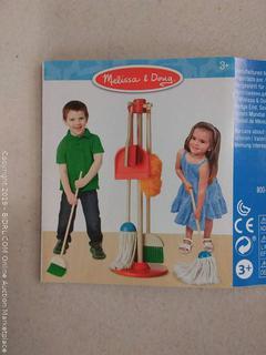 Melissa & Doug Cleaning Set: dust, sweep, mop!