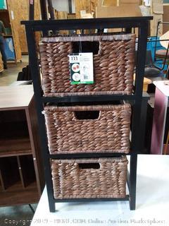 mdesign 3 shelf organizer