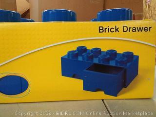 Lego Brick Drawer, Blue