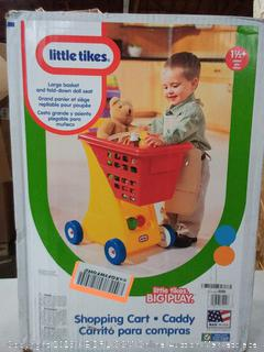 Little Tikes Large Basket and fold down doll seat
