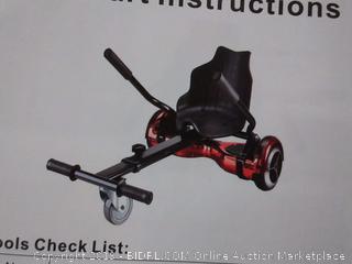 Hover Go Kart For Hoverboards, black