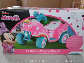 Disney Junior Minnie 6v Battery-Powered Ride-On