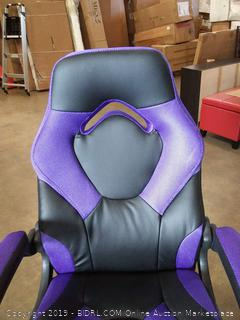 purple gaming chair