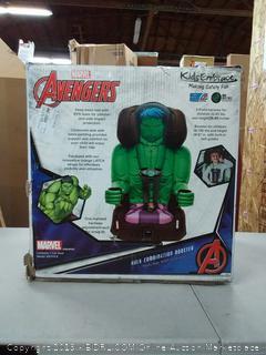 Hulk Toddler- Booster Childrens Car Seat