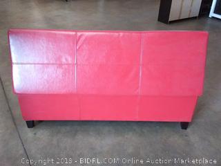 large Red Storage ottoman