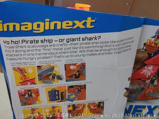 Fisher Price Imaginex Shark Bite Pirate Ship