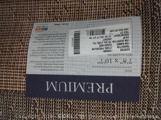 """Turkish Premium Ebony -  7 foot 8"""" x 10 foot 7"""""""