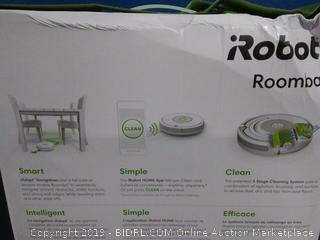 iRobot Roomba 675 vacuuming robot(Factory Sealed) COME PREVIEW!!!!! (online $229)