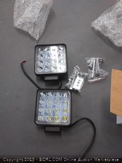 pack of four 2 by 2 LED bar lights