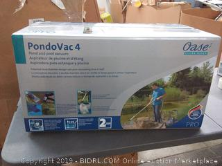 (brand new in box)OASE PONDOVAC 4 - Powerful Garden Pond Vacuum with