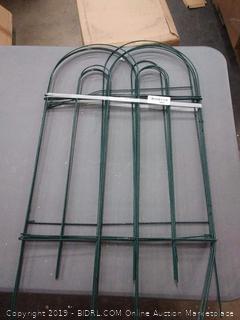 for metal green garden Gates