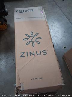 Zinus (QUEEN) 8 inch Memory Foam pressure relief green tea mattress