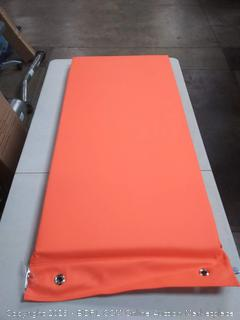 soft scape rest mat hanging Orange