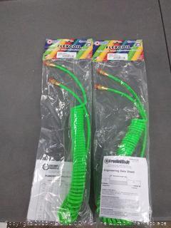 flexicoil 160 x 15 lightweight took polyurethane air hose to count