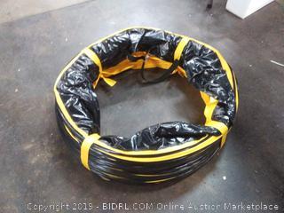 Mount 25 ft PVC flexible hose for exhaust fan 24 in