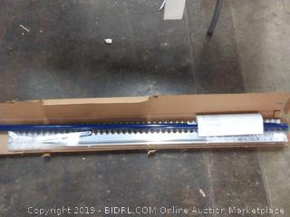 Midwest rake 10048 48 in head landscape rake 66 in blue aluminum handle