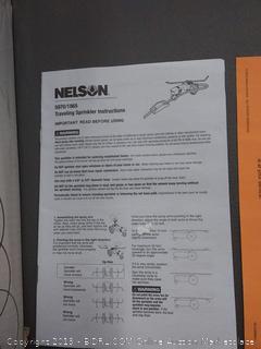 Nelson Rain Train Traveling Sprinkler Model 1865 and 50970