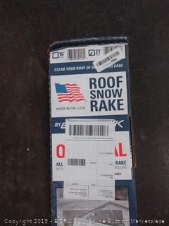 garelick original all aluminum roof snow rake