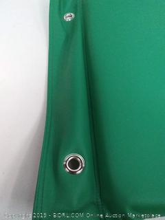 Soft scape rest mat hanging green