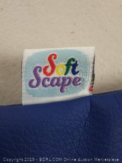 soft scape rest met hanging blue
