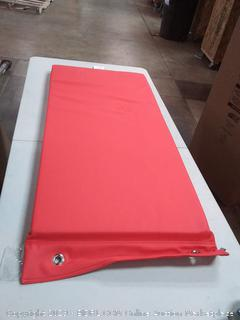Soft Scape rest Mat hanging red