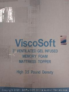 ViscoSoft 3.5 lbs. Density 3-Inch Gel Memory Foam (CAL KING)