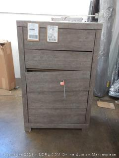 signature design by Ashley Rosen 5 drawer chest(drawer does not fit properly)