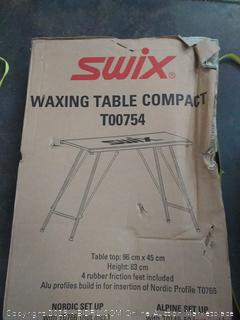 swix waxing table compact t 00754