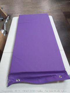 soft scape rest mat hanging purple