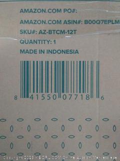 Zinus Memory Foam (TWIN) 12 Inch Green Tea Mattress, Twin