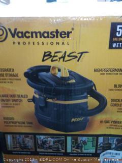 Vm Wet Dry Vac Beast 5gal VFB511B 0201 814953014737