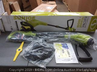 Sun Joe 11.5 inch electric trimmer plus edger