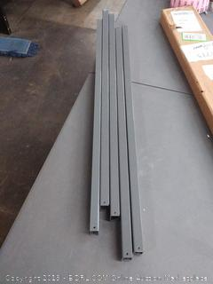 akro mils 30906 optional 9 rail kit for hanging Akron bins