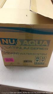 Nu Aqua drinking water system