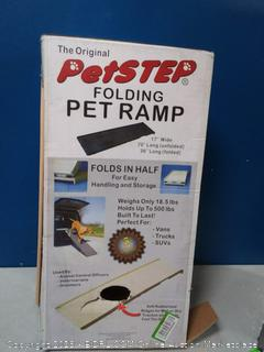 Pet Step folding pet ramp Kahki