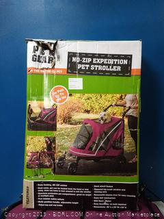 Pet Gear Expedition No Zip Stroller(Dog not included)(Online $176)