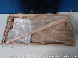 Prevue Pet Products Flight Cage, Brown/Black